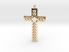 Criss Cross in 14K Yellow Gold