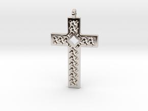 Criss Cross in Platinum