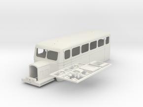 A50 #2 - O Gauge - 1:43.5 - Om in White Natural Versatile Plastic