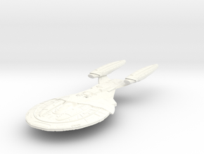 Armada Class V CarrierCruiser in White Processed Versatile Plastic