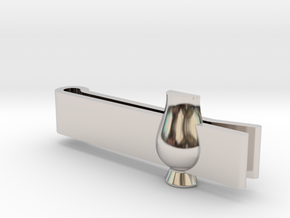 Tie Clip Glencairn Whiskyglass in Platinum