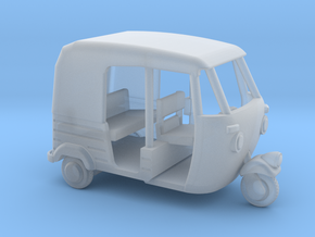 Auto Rickshaw / Tuk Tuk, HO-Scale 1:87 in Smooth Fine Detail Plastic
