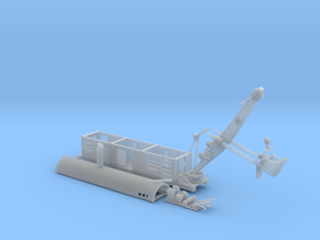 Revised 1914 Steam Shovel Z Scale in Smooth Fine Detail Plastic