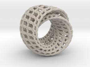Lingering ring Pendant in Natural Sandstone