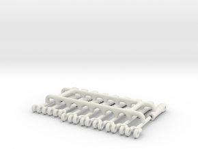 1/64 Replacement Cylinders,small frame-short reach in White Strong & Flexible