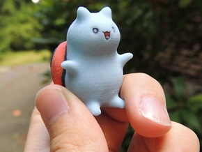"Catbug - 1"" tall in Full Color Sandstone"