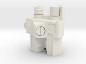 NAD Laser Unit (Rear) - Australia in White Natural Versatile Plastic