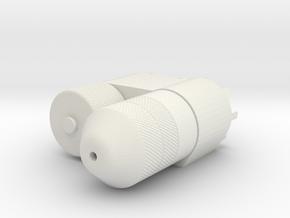 NAD Laser Unit (Front) - Australia in White Natural Versatile Plastic