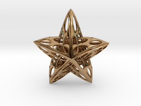 Star01 in Polished Brass
