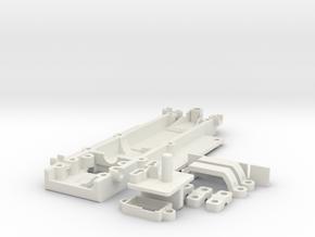 GRC General Lee in White Natural Versatile Plastic