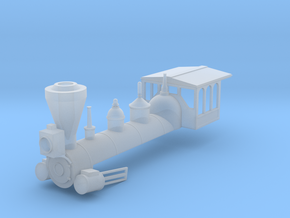 HO 4-4-0 Boiler Shell in Smooth Fine Detail Plastic