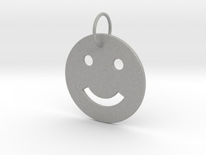 Smiley Pendant in Aluminum