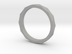 Engineers Ring Size 7 in Aluminum