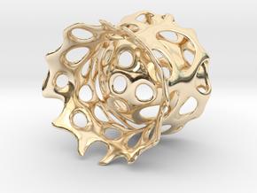 Eierbecher in 14k Gold Plated Brass