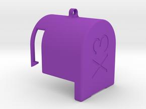 Gimbal lock Inspire1 - X3 Rev.2 in Purple Processed Versatile Plastic