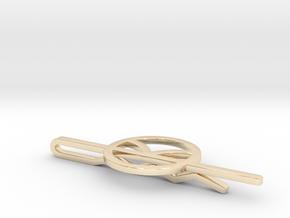 Kingsman Tie Clip in 14K Yellow Gold