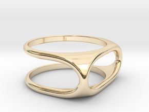 Nested Rings: Outer Ring (Size 10) in 14K Yellow Gold