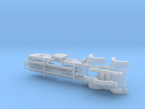 Cambrian Class 61  - P4 CHASSIS in Smooth Fine Detail Plastic