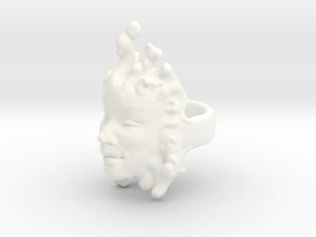 Elaine Ring size 10 in White Processed Versatile Plastic
