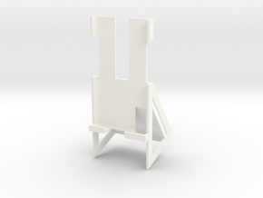Samsung S5 Active Desk Holder in White Processed Versatile Plastic