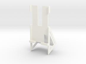 Samsung S5 Active Desk Holder in White Processed Versatile Plastic