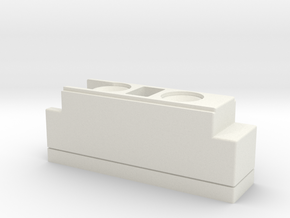 Vader E6 Control Box without screws in White Natural Versatile Plastic