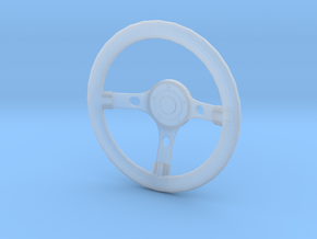 Steering wheel Grant Gt Replica 1/10 Scale in Smooth Fine Detail Plastic