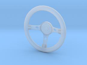 Steering wheel Grant Gt Replica 1/10 Scale in Smooth Fine Detail Plastic