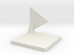 Checkpoint in White Natural Versatile Plastic