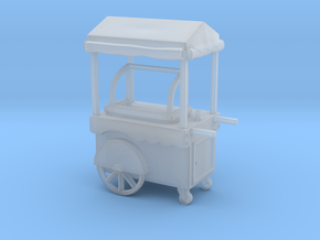 Food Cart 01. HO scale (1:87) in Smooth Fine Detail Plastic