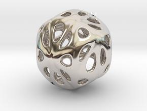 hydrangea ball 04 in Platinum