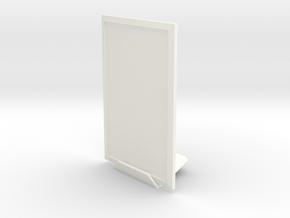 Portrait 3dphoto 3.5 X 5 Inches in White Processed Versatile Plastic