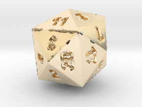 Drinking D24 (D20) in 14K Yellow Gold
