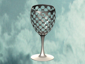 Wine Glass Sieve in White Strong & Flexible