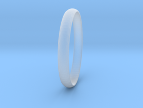 Ring Size 7 Design 3 in Smooth Fine Detail Plastic