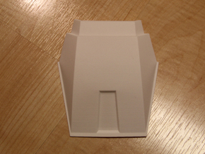 Iron Man Mark IV/Mark VI Lower Neck Armor (Back) in White Natural Versatile Plastic
