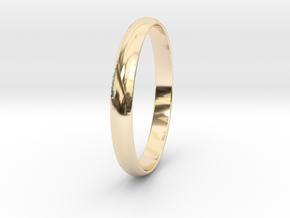 Ring Size 6.5 Design 4 in 14K Gold