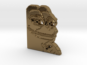 Pepe Pendant in Polished Bronze
