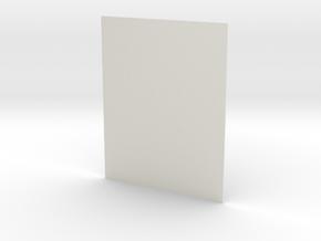 254 X 200 Photo in White Natural Versatile Plastic