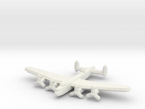 Avro Lancaster 1/900 in White Natural Versatile Plastic