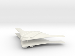 1/700 Long Range Strike Bomber (LRS-B) (x2) Flying in White Natural Versatile Plastic