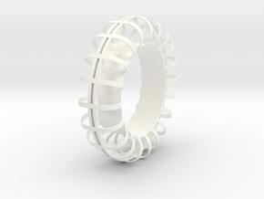 A-LRV wheel : inner frame in White Processed Versatile Plastic