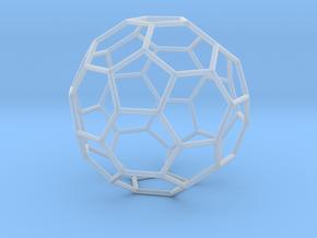 TruncatedIcosahedron 170mm in Smooth Fine Detail Plastic