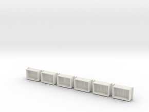 A-1-76-wdlr-a-class-open-fold-side-ends-wagon1c-x6 in White Natural Versatile Plastic