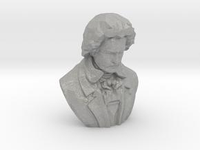 Ludwig van Beethoven in Aluminum