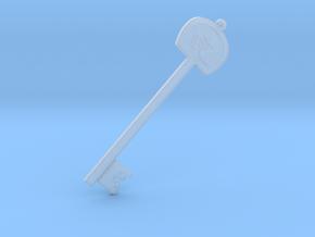 Helmet Key in Smooth Fine Detail Plastic