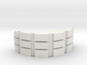 Bender Mouth in White Natural Versatile Plastic