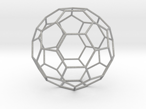 0473 Truncated Icosahedron E (16.0 см) #006 in Aluminum