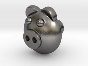 PIGI door knob in Polished Nickel Steel