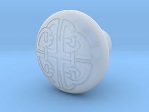 DORADO door knob in Smooth Fine Detail Plastic